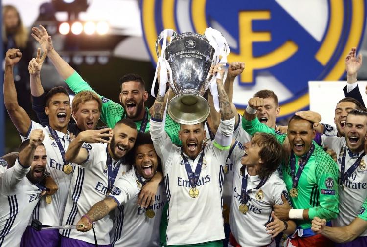 Победители Лиги Чемпионов Мадридский Реал