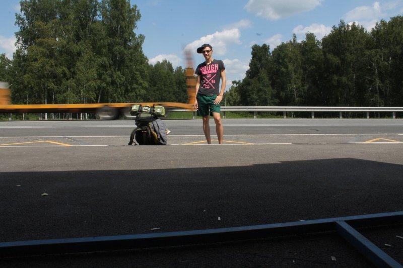 Cappax путешествует автостопом
