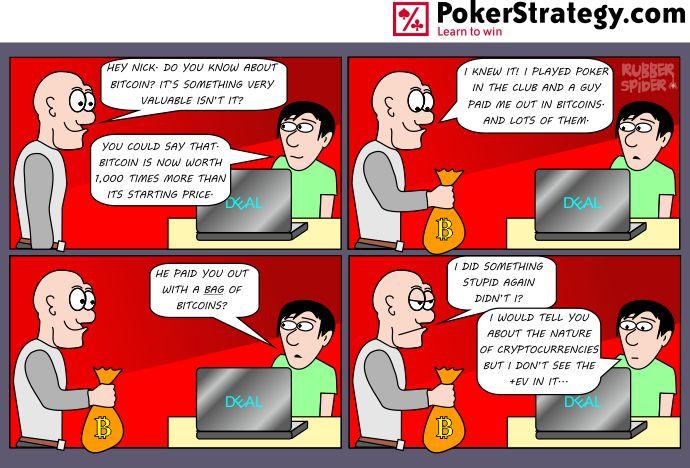 Funny Poker Cartoons Bitcoin