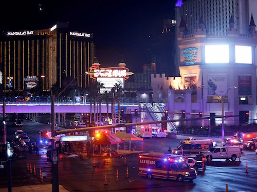 The aftermath at the Mandalay Bay