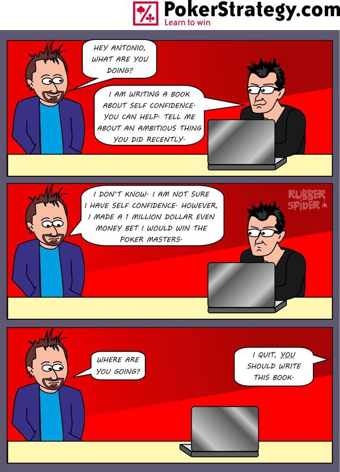 Funny Poker Cartoons Daniel Negreanu