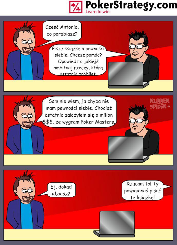 Śmieszny Pokerowy Komiks Daniel Negreanu