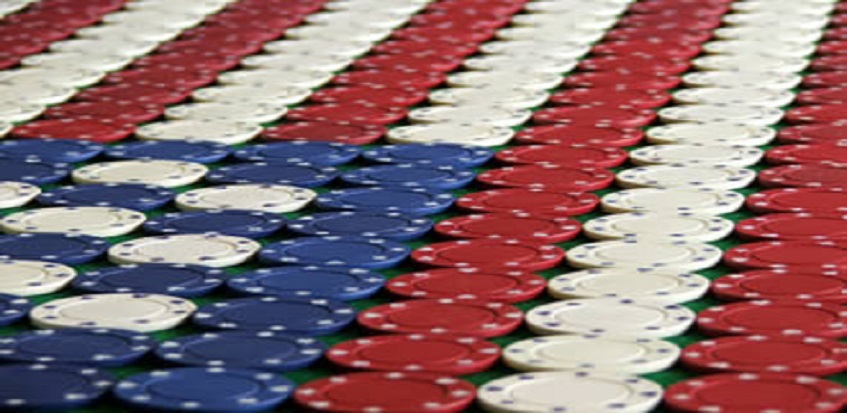 USA poker chips
