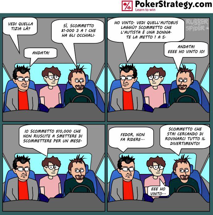 Vignette Divertenti sul Poker Prop bet