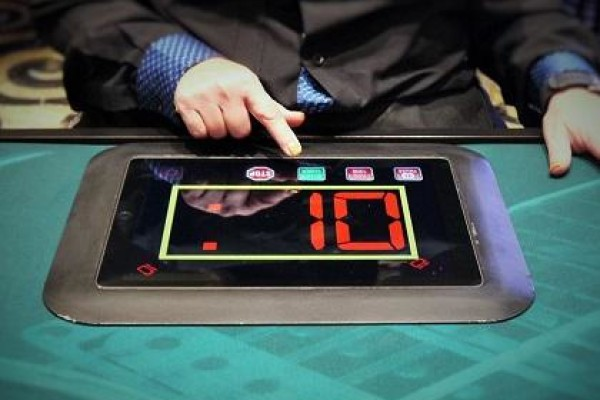 Shot clock poker