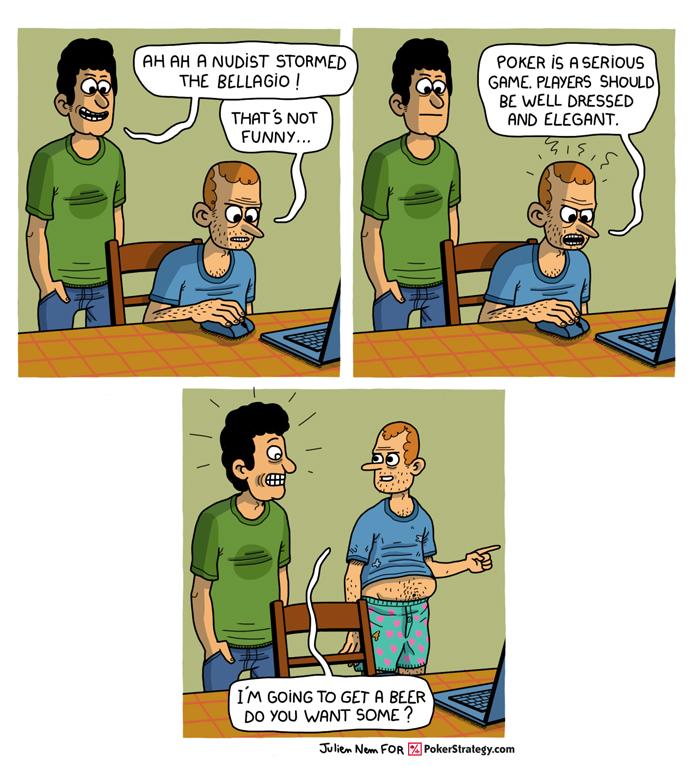 Funny Poker Cartoons Bellagio