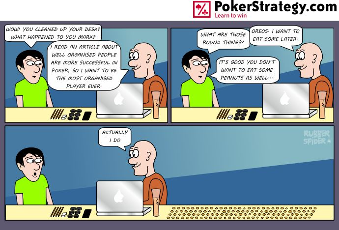 Funny Poker Cartoons Discipline