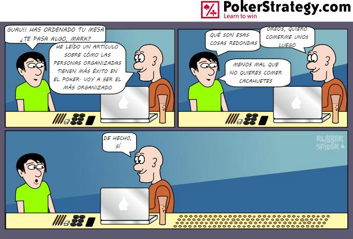 Tiras de poker divertidas Disciplina