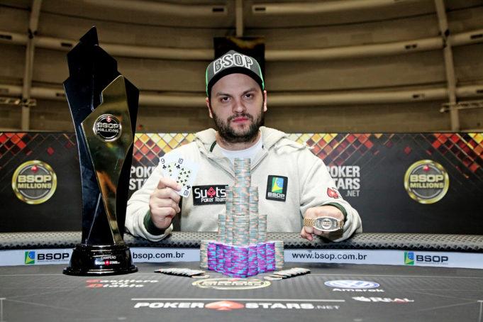 Saulo Sabioni campeão do BSOP Millions 2017
