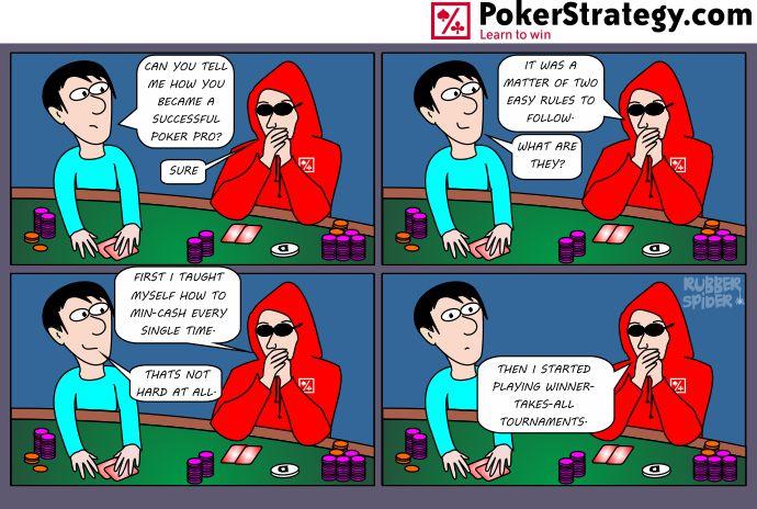 Funny Poker Cartoons Poker pro
