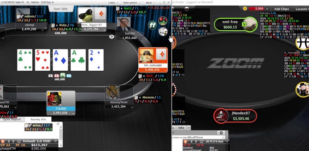 pokerstars and partypoker