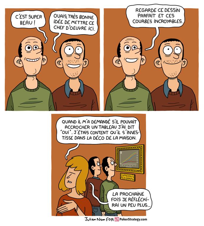 BD de poker humoristique Cumicon