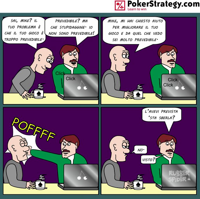 Vignette Divertenti sul Poker Comportamento