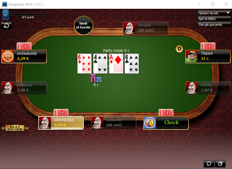 888poker.it Software Client