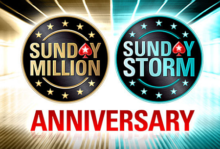 PokerStars Sunday Million and Sunday Storm Birthday specials