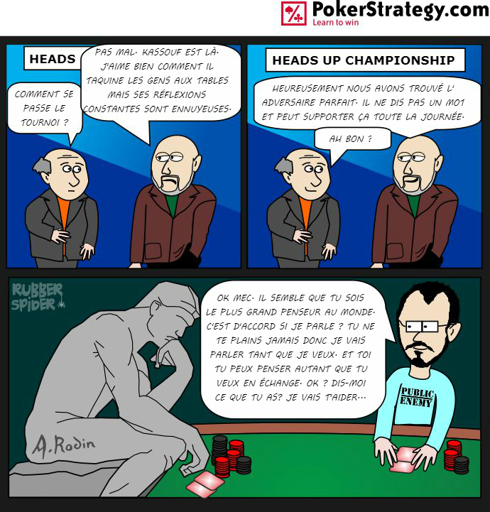 BD de poker humoristique Will Kassouf