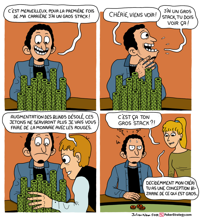 BD de poker humoristique Jetons de poker