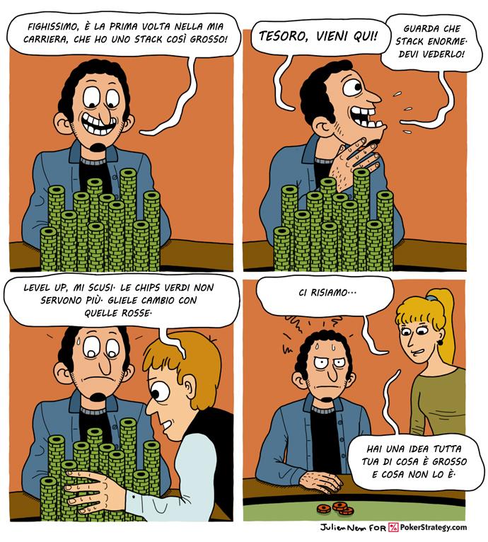 Vignette Divertenti sul Poker Poker chips