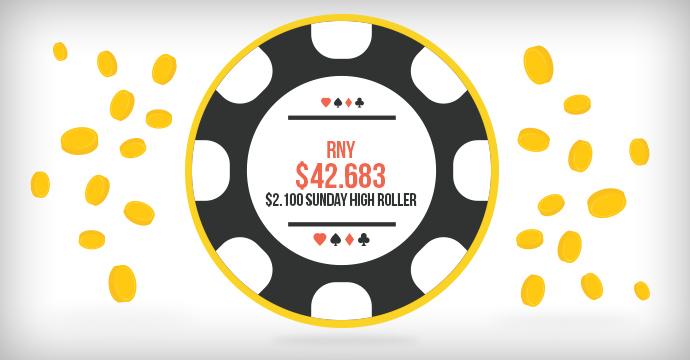 RnY выиграл $42.683 в Sunday High Roller!