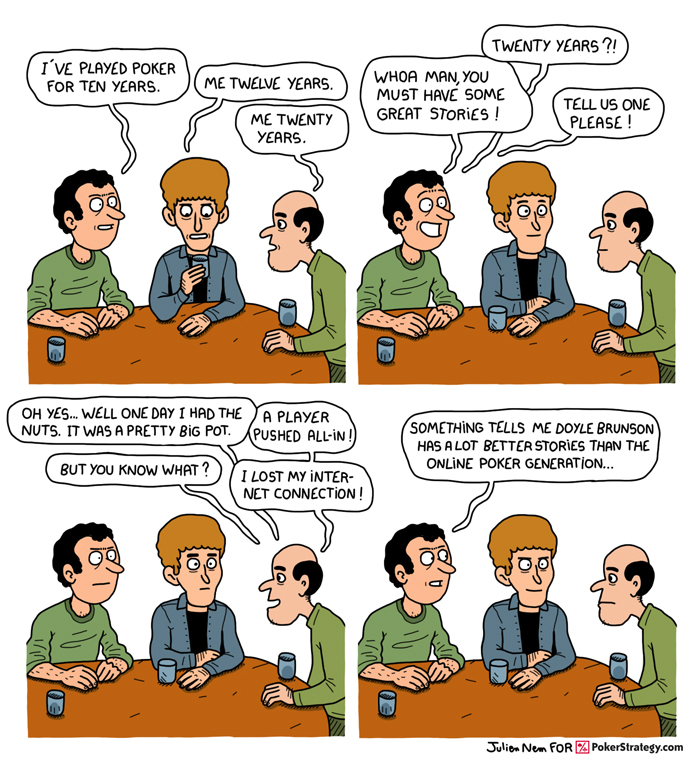 Funny Poker Cartoons Poker stories