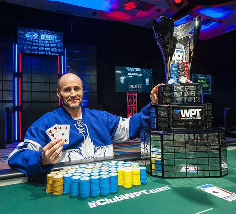 Mike Leah WPT champion