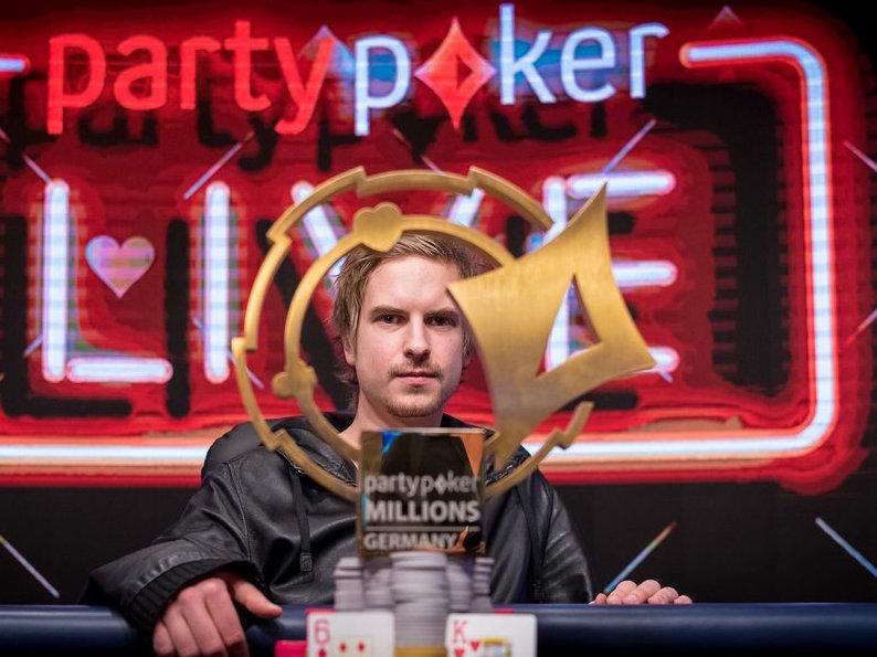 Виктор Блом выиграл partypoker MILLIONS