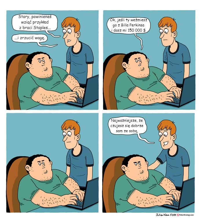 Śmieszny Pokerowy Komiks Jaime Staples