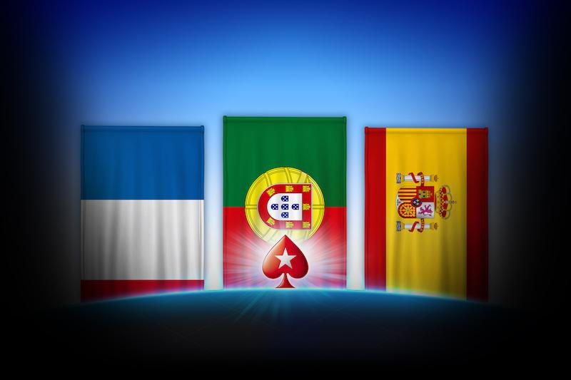 PokerStars испания франция португалия