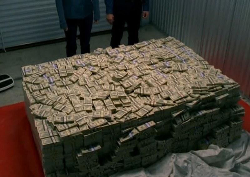 Во все тяжкие куча денег