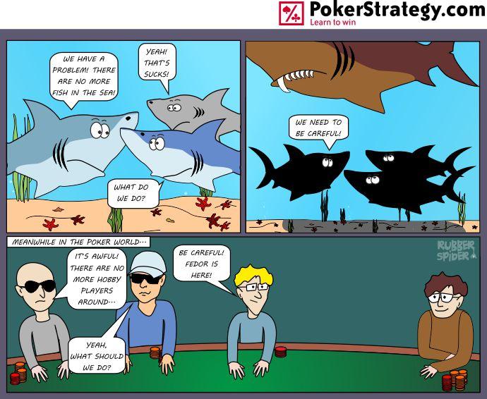Lustige Pokercartoons Fedor Holz