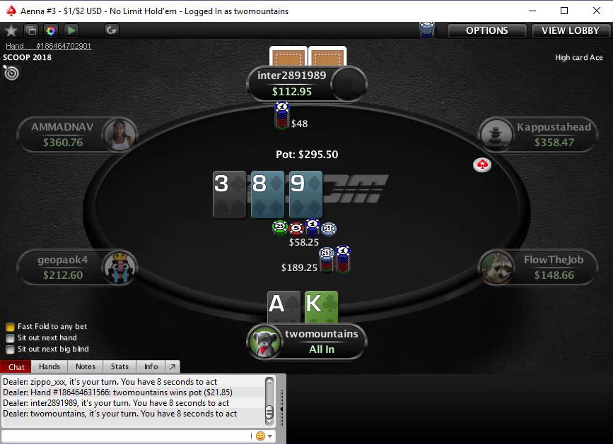 Покерное видео