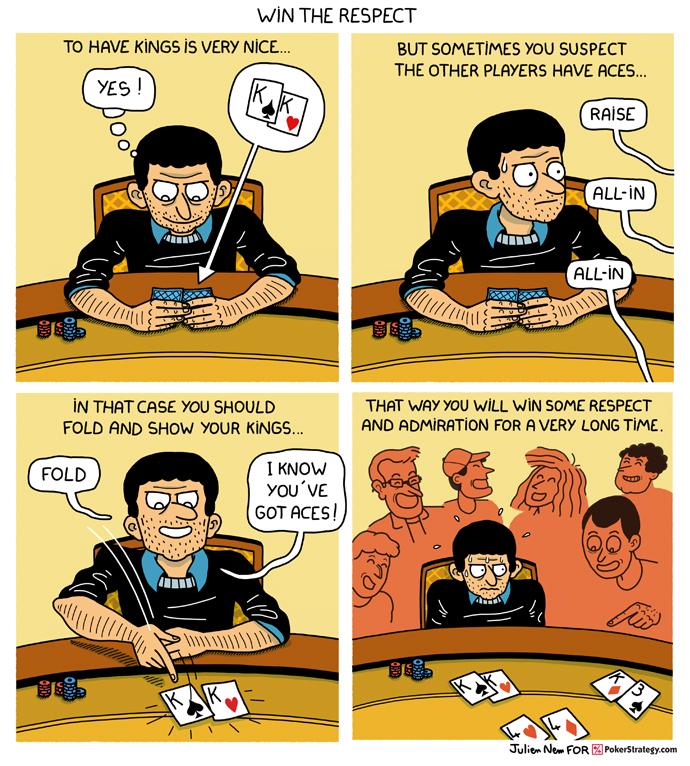 Lustige Pokercartoons Poker reads