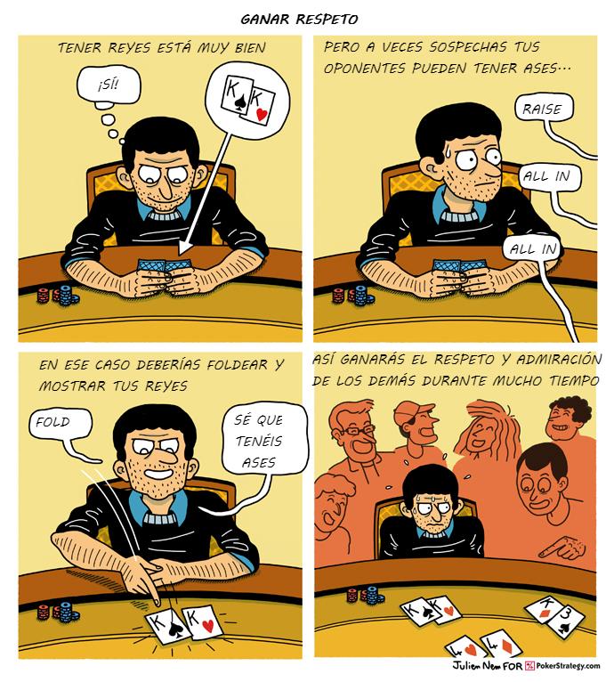 Tiras de poker divertidas Lecturas de poker