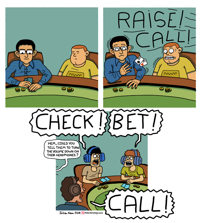 Funny Poker Cartoons Live poker