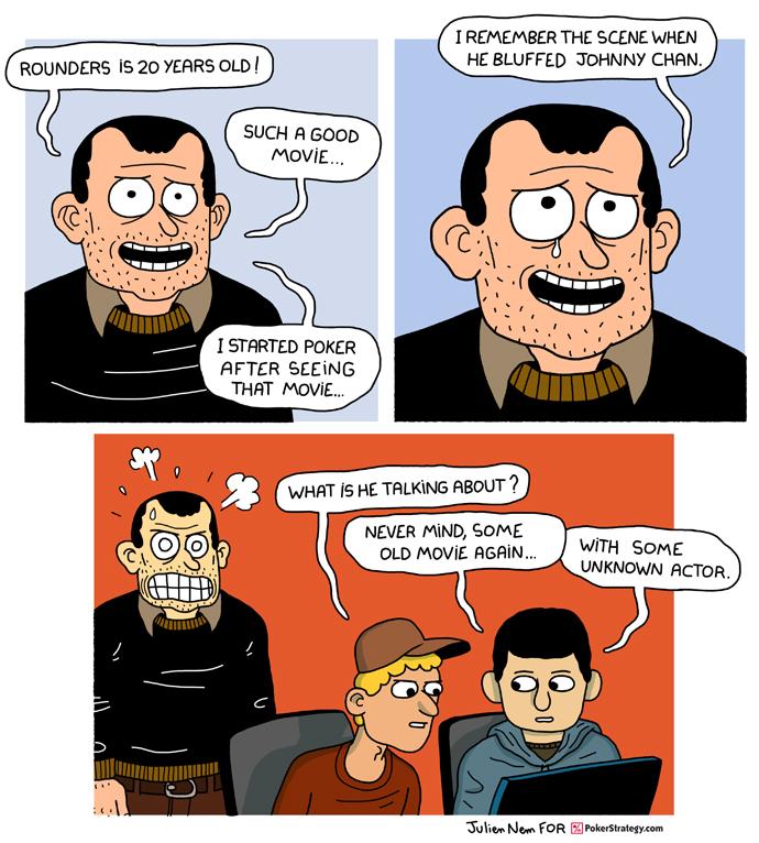 Funny Poker Cartoons Johnny Chan