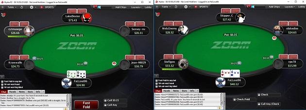 PokerStars 3bet bluff