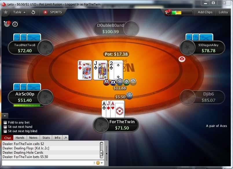 PokerStars Fusion