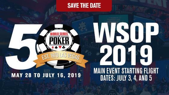 Wsop 2019 Main Event Schedule News: WSOP add a $1,000 Mini Main Event