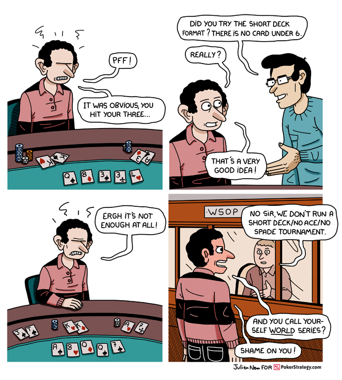 Funny Poker Cartoons World Series