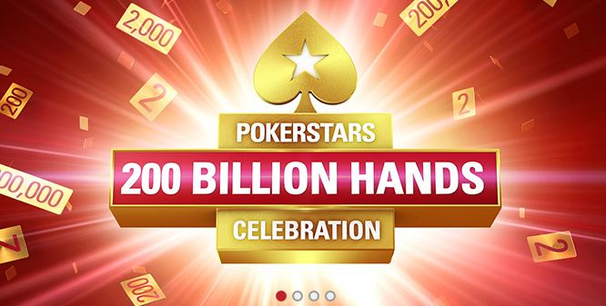 News: The 200 Billionth Hand hits today at PokerStars