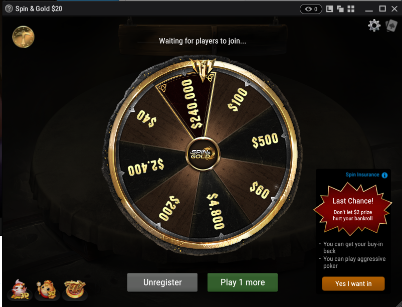 News More Details On Spin Gold From Ggpoker
