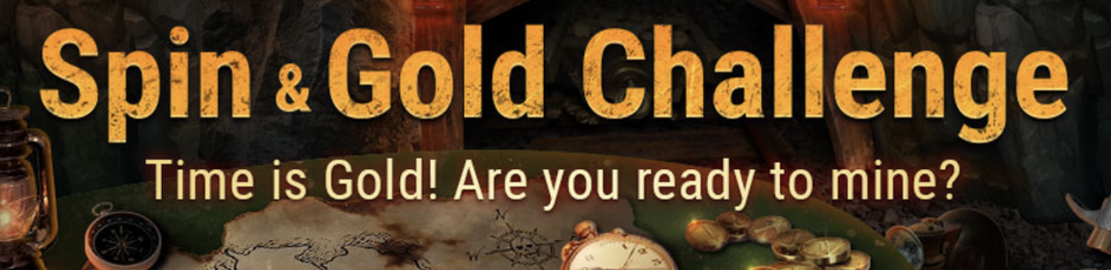 spin & gold challenge