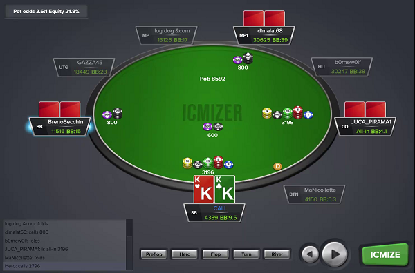 Variance In Live Poker