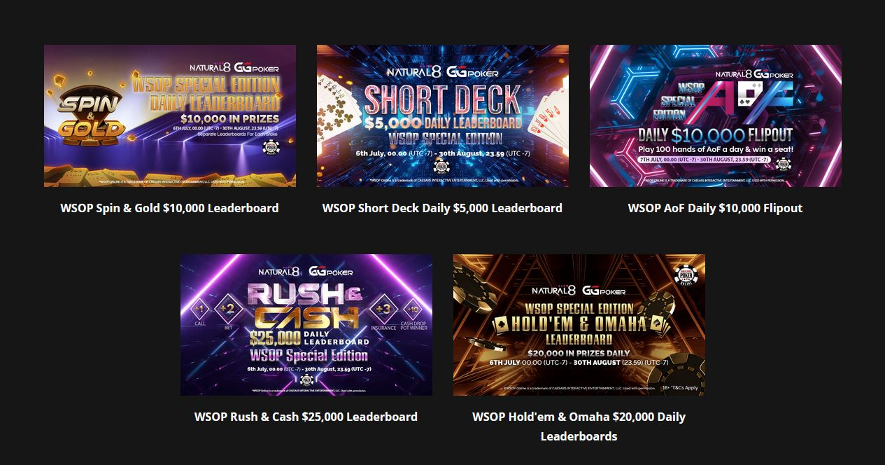 promotions ggnetwork wsop