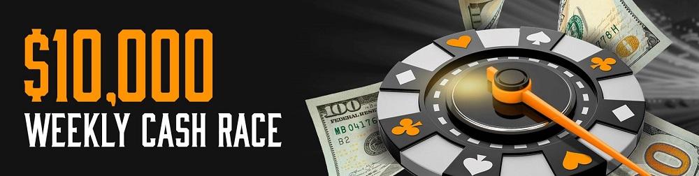 weekly cash race tigergaming