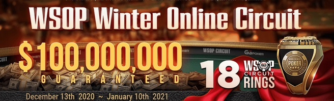 WSOP Winter Onine Circuit