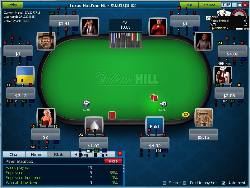 Elephant poker software