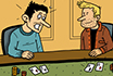 Poker Cartoon - Bitterness