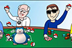 Poker Cartoon - Raro