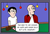 Poker Cartoon - Biscotti